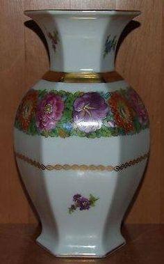 Rosenthal Bavaria signed: Zeidler 20 cm Bavaria, Ph, Floral, Ebay, Decor, Decoration, Flowers, Decorating, Flower