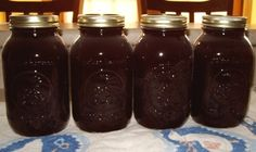 Making grape juice at home - Step by step directions for making and canning juice from concord grapes