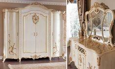 VENICE Lüks Klasik Yatak Odası Takımı