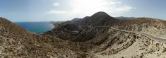road between Playa Castillo  a Carboneras Spain Alicante, Monument Valley, Mount Everest, Mountains, Nature, Travel, Castles, Naturaleza, Viajes