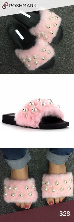 Unicorn Pretty in Pink Sandal Slippers NEW IN A BOX These unicorn cute and comfy sandals are very cute and trendy to wear when your feeling lazy but you still want to look cute! These slippers are adorable to wear whenever and anywhere very fashionable ONLY THE BRAVE CAN BE FASHIONABLE   -----Check out my store for more shoes---- Shoes Flats & Loafers