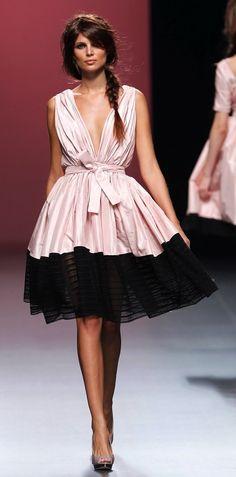 Juana Martin - Spring/Summer 2013-2014 Fashion Week Madrid - pink and black