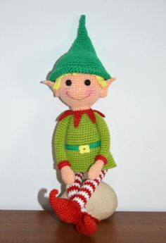 Elf Boy - AmigurumiBB