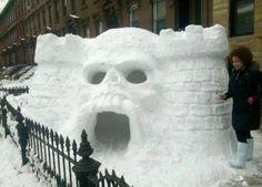 The Skull Snow Castle
