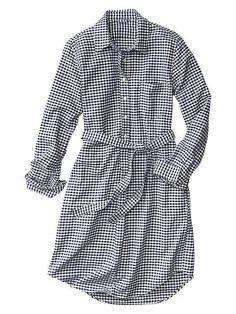 Pin for Later: Weshalb Karo in dieser Saison das angesagte Muster ist Gap Gingham Oxford Hemdkleid Gap Gingham Oxford Shirtdress ($30, originally $60)
