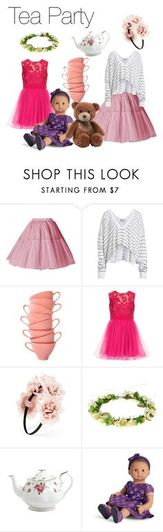 """Tea Party"" by fashionlover423 on Polyvore featuring Wildfox, Forever 21, Royal Albert and Gund"