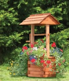 Idea for my WISHING WELL.