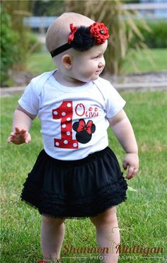 Minnie Mouse 1st Birthday - Shannon Mulligan Photography