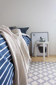 Pieni talo Helsingissä: Nyt on uusissa sängyissä nukuttu parisen viikkoa ja hyvin on koko perhettä nukuttanut.