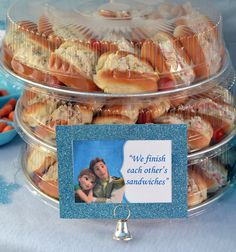 Frozen Sandwiches Party Food Idea