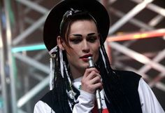 """Douglas Booth as Boy George in """"Worried About the Boy. Movies For Boys, Douglas Booth, Culture Club, Boy George, Pretty Boys, Actors & Actresses, Eye Candy, Handsome, People"""