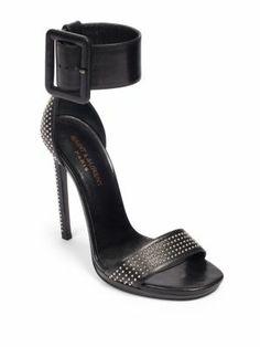 { Saint Laurent Studded Sandals }