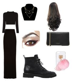 """""""Given"""" by giaai on Polyvore featuring Enza Costa, Giuseppe Zanotti, Ashlyn'd and Marc Jacobs"""