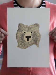 Bear Of Few Words by The Seventy Tree