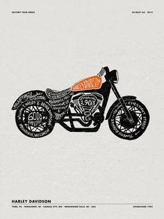 Harley Davidson creativity!!!