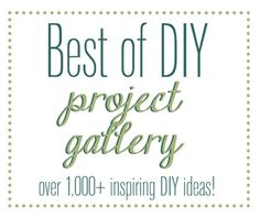 This website is my dream come true! Everything from space saving solutions to repurposing to how-to instructions! Love love love!