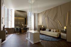 Elliott Barnes Interiors | AD Interieurs, Paris Wall Design #InteriorDesign #Design