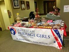 American Heritage Girls Bake Sale