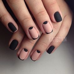 Image about fashion in nails by Rania on We Heart It Nails Only, Love Nails, Pretty Nails, My Nails, French Nails, Nail Manicure, Nail Polish, Acryl Nails, Nails 2017
