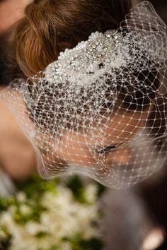 Birdcage veil. Vintage Styler UK.