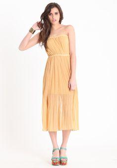 Meet Cute Mustard Dress http://www.threadsence.com/meet-cute-mustard-dress-p-4564.html