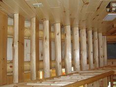 Cedar railing