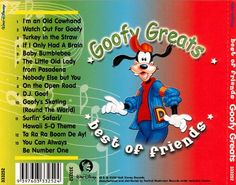 Goofy Greats - Disney | Songs, Reviews, Credits | AllMusic Goofy Pics, Goofy Pictures, Disney Princess Songs, Disney Songs, Disney Christmas Songs, Soundtrack Songs, Sing Along Songs, 5 Babies, Make Me Smile