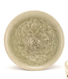 A 'yaozhou' celadon 'Boys' bowl, Northern Song Dynasty Chinese Ceramics, Chinese Antiques, Chinese Art, White Ceramics, Modern Art, Auction, Porcelain, Pottery, Plates