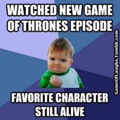 Game of Thrones humor that is downright silly
