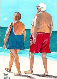 Aw!! I love this! Dee Turner - Beach Walkers