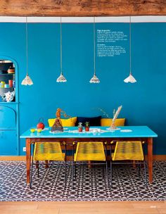 casa de fifia blog de decoração : na paz do azul