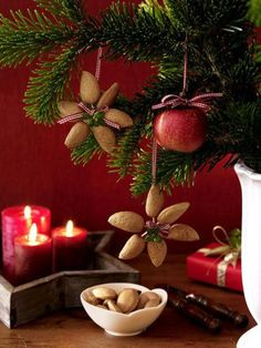 Ideas To Make Your Own Edible Ornaments Natural Christmas Ornamentshomemade Christmas Treehomemade