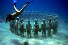 musée sous marin cancun jason de caires