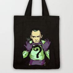 Why E. Nigma? Tote Bag by Vee Ladwa - $18.00