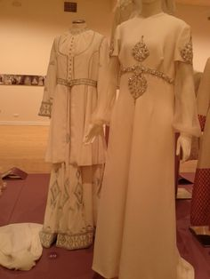 Benaki Museum, Brides, Dresses With Sleeves, Long Sleeve, Fashion, Moda, Sleeve Dresses, La Mode, Gowns With Sleeves