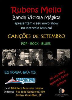 Rubens Mello e Vitrola Mágica na Biblioteca Monteiro Lobato