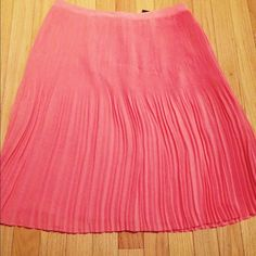 """NWT Lord & Taylor pleated skirt size 4 New with tag, fully lined. Flat measurements: waist 15"""" and length is 23.5""""⛔️NO TRADE⛔️ Lord & Taylor Skirts"""