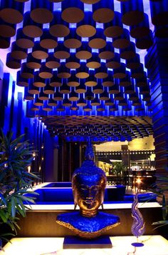 They say more than of restaurants fail within three years of opening. Lounge Club, Bar Lounge, Hookah Lounge, Hotel Restaurant, Restaurant Design, Restaurant Kitchen, Bar Interior, Interior Design, Interior Lighting