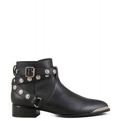 Boots rock pointues Senso Danny Ebony