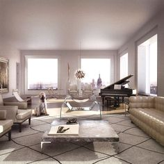 deborah berke embraces the feeling of living in a traditional new york park avenue apartment with her interior design of 432 park avenue. 432 Park Avenue, New York Penthouse, Luxury Penthouse, Luxury Apartments, Luxury Homes, Penthouse Suite, Manhattan Penthouse, Manhattan Nyc, New York Apartment Luxury