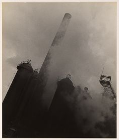 Wolfgang Sievers  Blast furnace in the Ruhr, Germany  1933