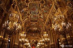 The ballroom inside the Opéra Garnier in Paris