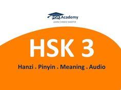 HSK 4 Vocabulary List (Download PDF) | Vocabulary list ...