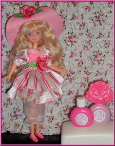 Peppermint Rose Doll    OH MY FREAKIN GOD! I remember this so much that the picture made me instantly remember the smell!!!