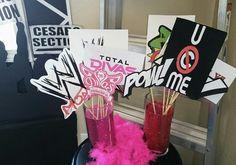 WWE photo props