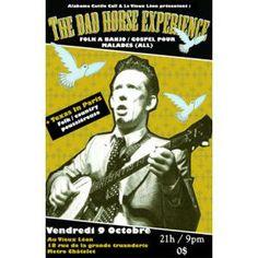Dad Horse Experience (ALL - folk à banjo) + Texas in Paris