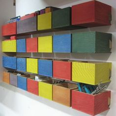 If you need storage in your workshop, these plywood storage boxes are just the thing. You can make them any size you want and add more batte...