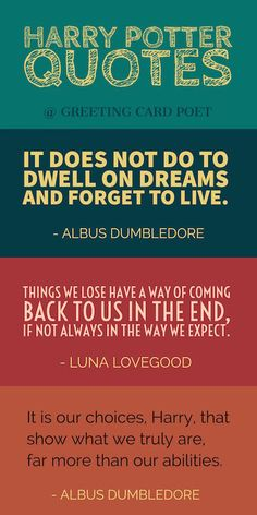 Quotes from Harry Potter image