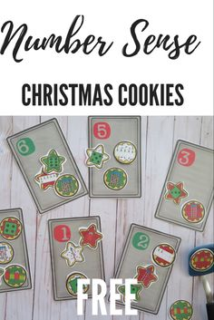 Christmas Activities For Toddlers, Holiday Crafts For Kids, Winter Activities, Kindergarten Activities, Preschool Activities, Christmas Math, Toddler Christmas, Christmas Themes, Christmas Cookies