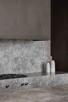 Amazing Architecture, Interior Architecture, Architecture Images, Kitchen Interior, Kitchen Design, Gray Interior, Residential Interior Design, Minimalist Interior, Interior Design Inspiration